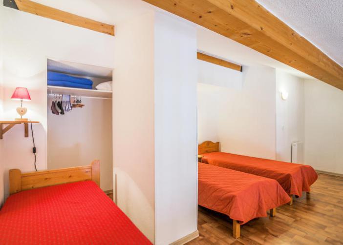 Vakantie in de bergen Appartement 3 kamers 7 personen (72) - Résidence Cheval Blanc - Valfréjus - 1 persoons bed