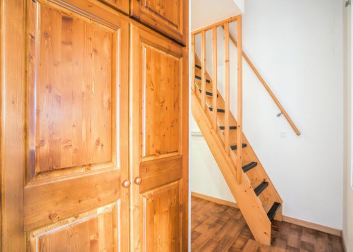 Vakantie in de bergen Appartement 3 kamers 7 personen (72) - Résidence Cheval Blanc - Valfréjus - Trap