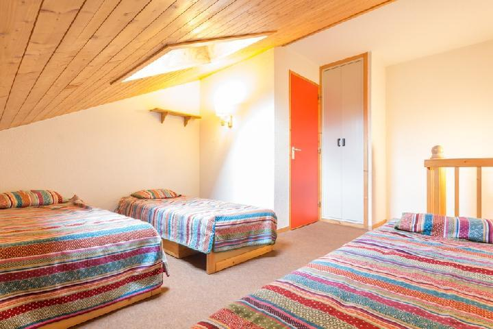 Holiday in mountain resort Studio mezzanine 5 people (340) - Résidence Choucas - Montalbert