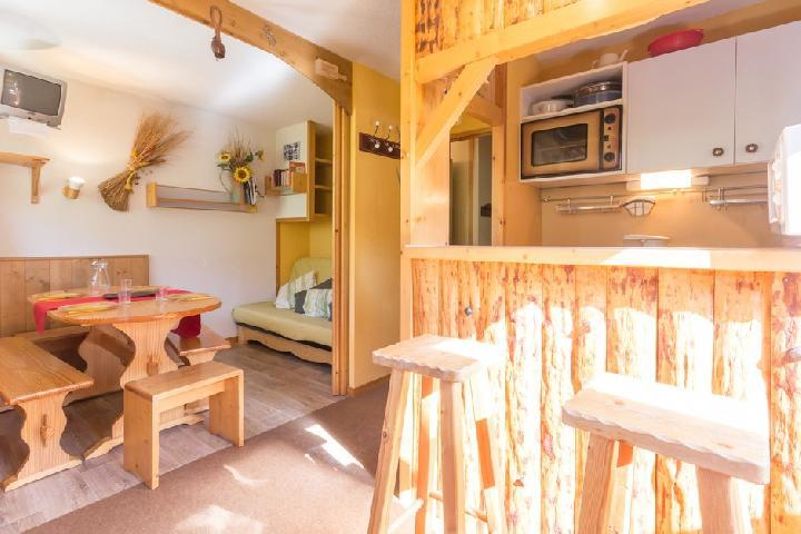 Holiday in mountain resort 2 room apartment 5 people (345) - Résidence Choucas - Montalbert