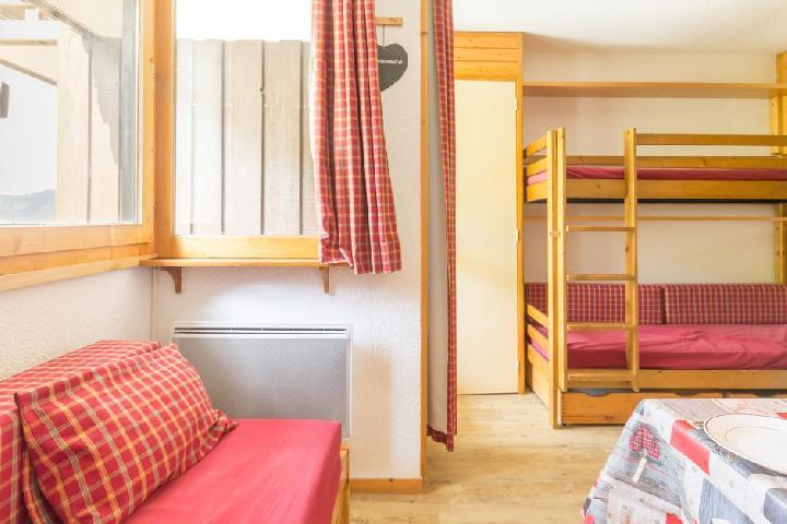 Holiday in mountain resort Studio 4 people (219) - Résidence Choucas - Montalbert