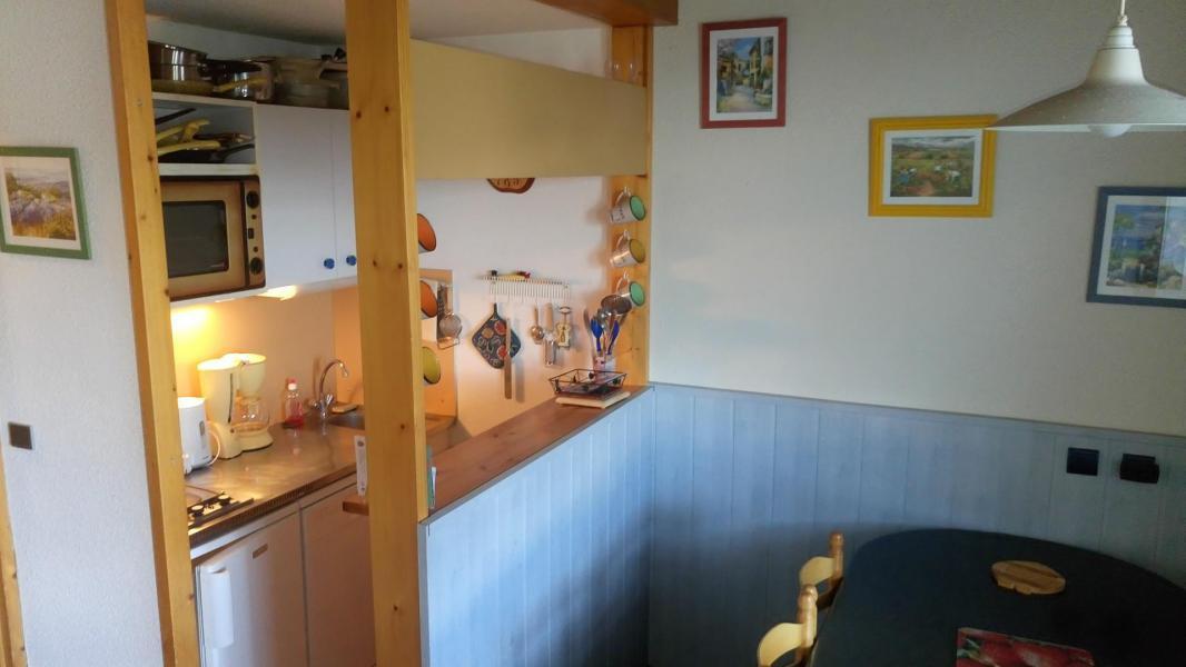 Vakantie in de bergen Appartement duplex 2 kamers 5 personen (434) - Résidence Choucas - Montalbert - Keukenblok
