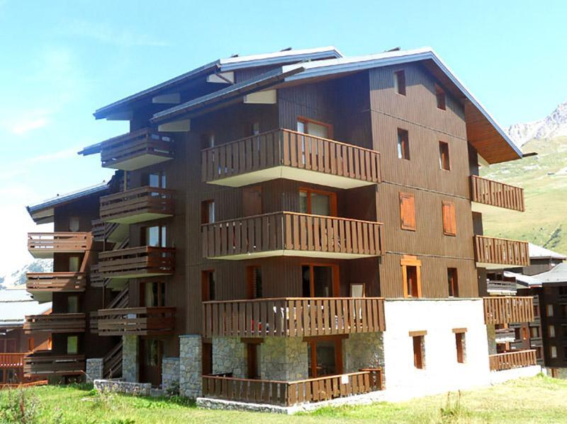 Location au ski Residence Cimes I - Méribel-Mottaret - Extérieur été