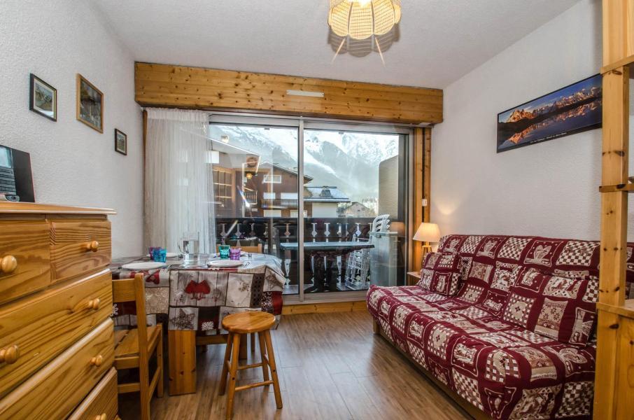 Vacances en montagne Studio 3 personnes (LAURIER) - Résidence Clos du Savoy - Chamonix - Séjour