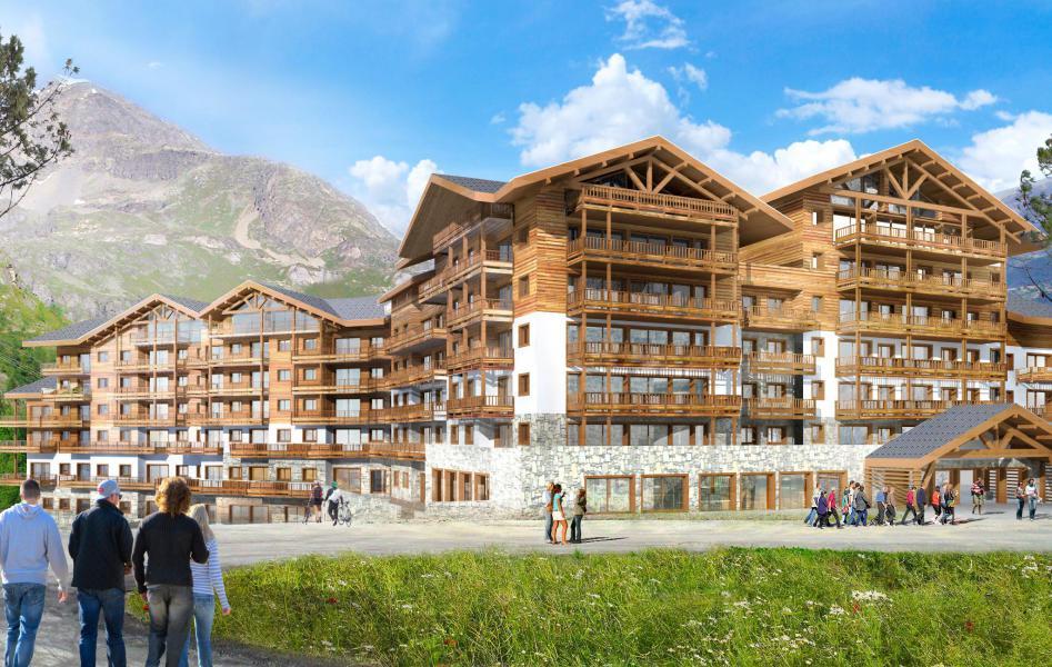 Soggiorno sugli sci Résidence Club MMV L'Altaviva - Tignes - Esteriore estate