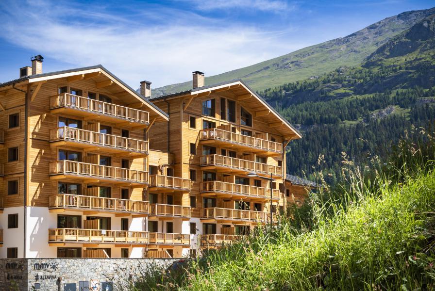 Location au ski Résidence Club MMV L'Altaviva - Tignes - Extérieur été