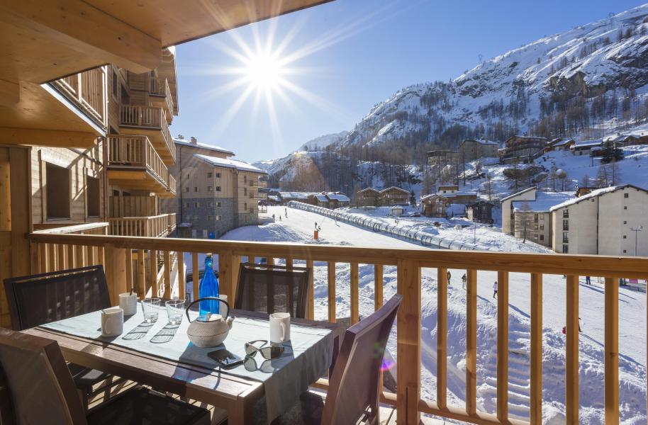 Каникулы в горах Résidence Club MMV L'Altaviva - Tignes - Балкон