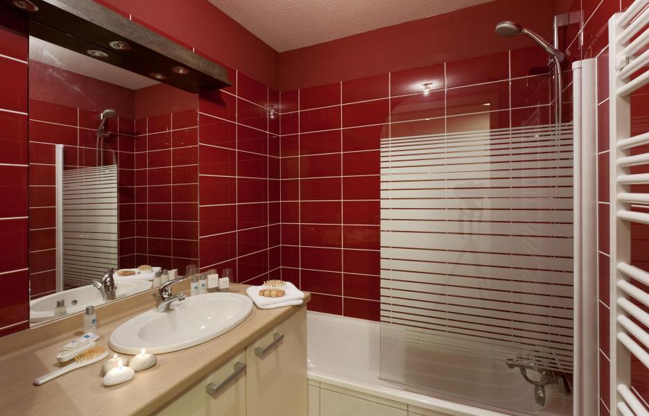 Urlaub in den Bergen Résidence Club MMV l'Étoile des Cîmes - Sainte Foy Tarentaise - Badezimmer