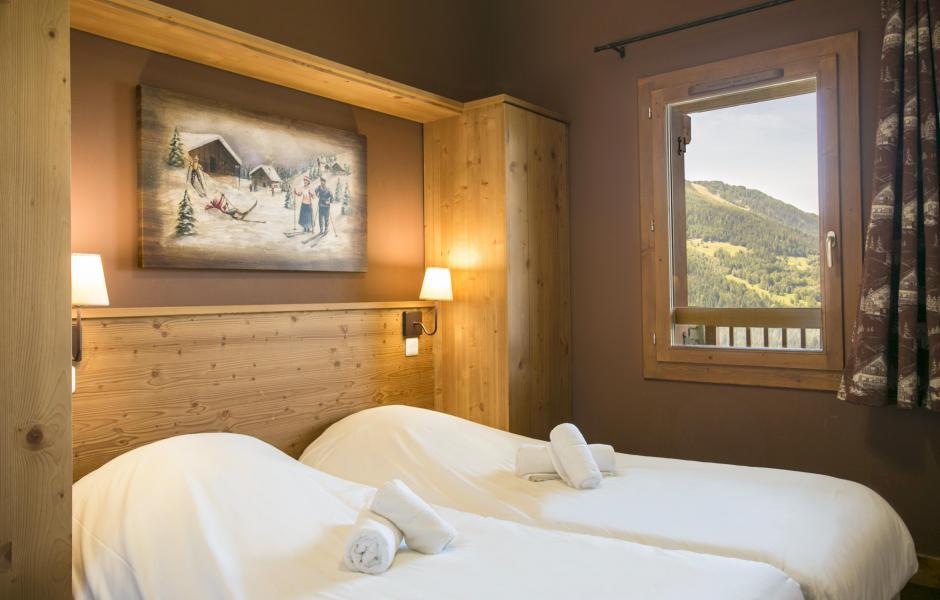 Urlaub in den Bergen Résidence Club MMV l'Étoile des Cîmes - Sainte Foy Tarentaise - Schlafzimmer