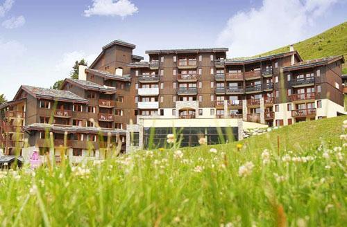 Vacances en montagne Residence Club Mmv Le Centaure - La Plagne - Extérieur été