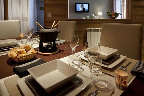 Vacances en montagne Residence Club Mmv Le Centaure - La Plagne - Appareil à fondue