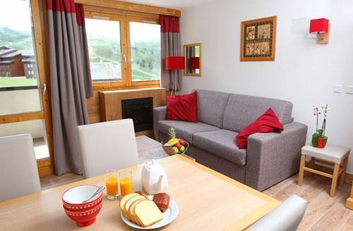 Vacances en montagne Residence Club Mmv Le Centaure - La Plagne - Banquette
