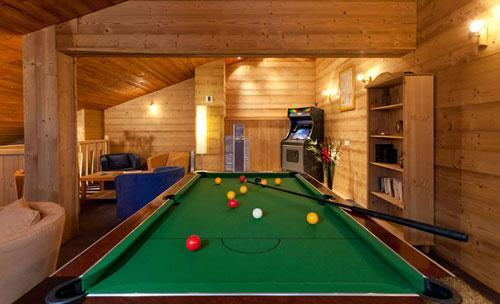 Vacances en montagne Residence Club Mmv Le Centaure - La Plagne - Billard