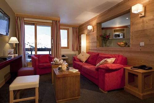 Vacances en montagne Residence Club Mmv Le Centaure - La Plagne - Canapé