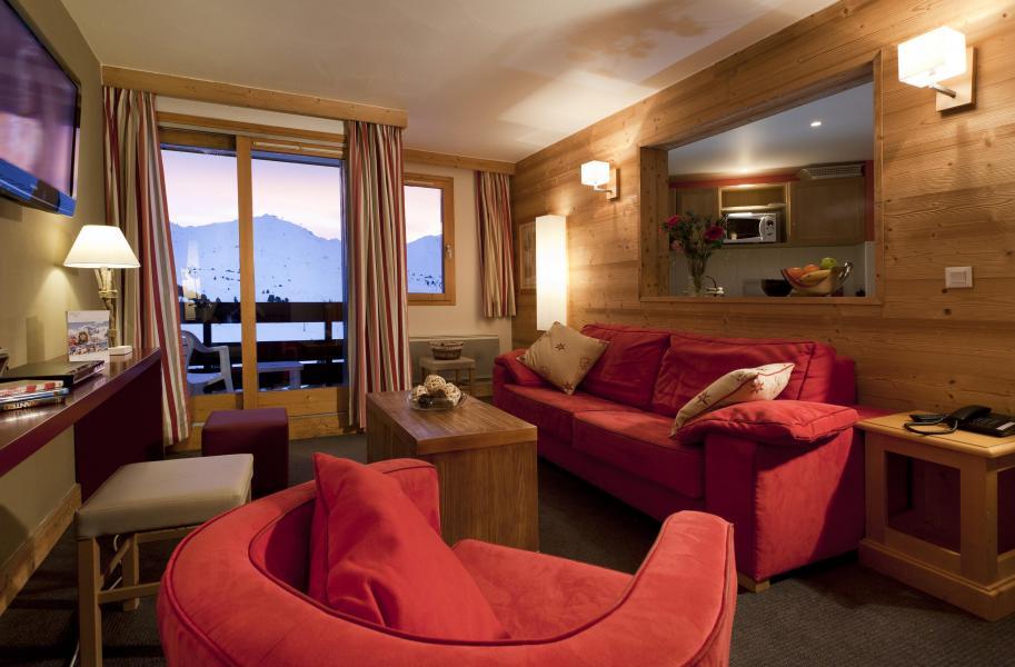 Vacances en montagne Résidence Club MMV le Centaure - La Plagne - Canapé
