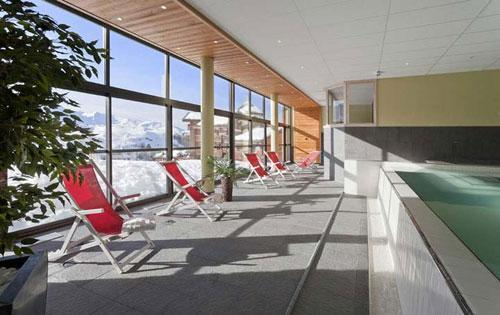 Vacances en montagne Residence Club Mmv Le Centaure - La Plagne - Relaxation