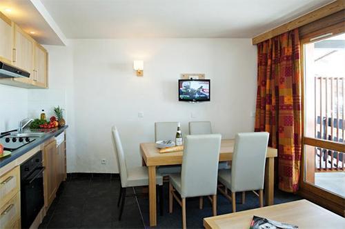 Vacances en montagne Residence Club Mmv Le Centaure - La Plagne - Salle à manger