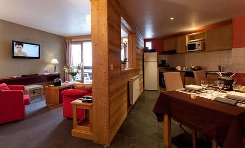 Vacances en montagne Residence Club Mmv Le Centaure - La Plagne - Séjour
