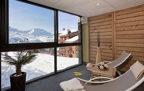 Vacances en montagne Residence Club Mmv Le Centaure - La Plagne - Solarium