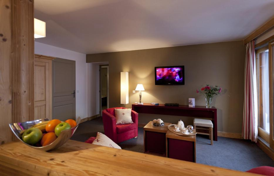 Vacances en montagne Résidence Club MMV le Centaure - La Plagne - Tv à écran plat