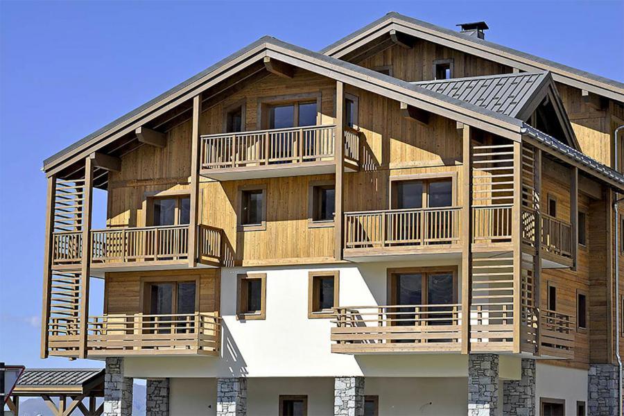 Location au ski Résidence Club MMV le Coeur des Loges - Les Menuires - Extérieur été