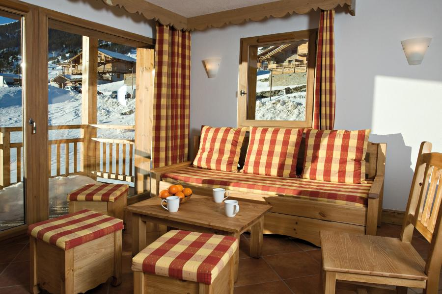 Vacanze in montagna Résidence Club MMV le Hameau des Airelles - Montgenèvre - Angolo soggiorno