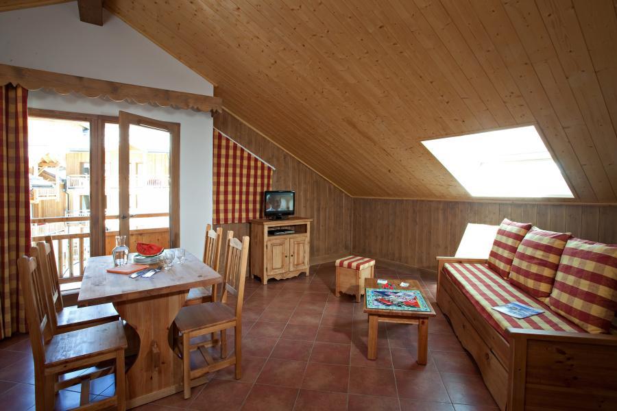 Vacances en montagne Résidence Club MMV le Hameau des Airelles - Montgenèvre - Coin repas