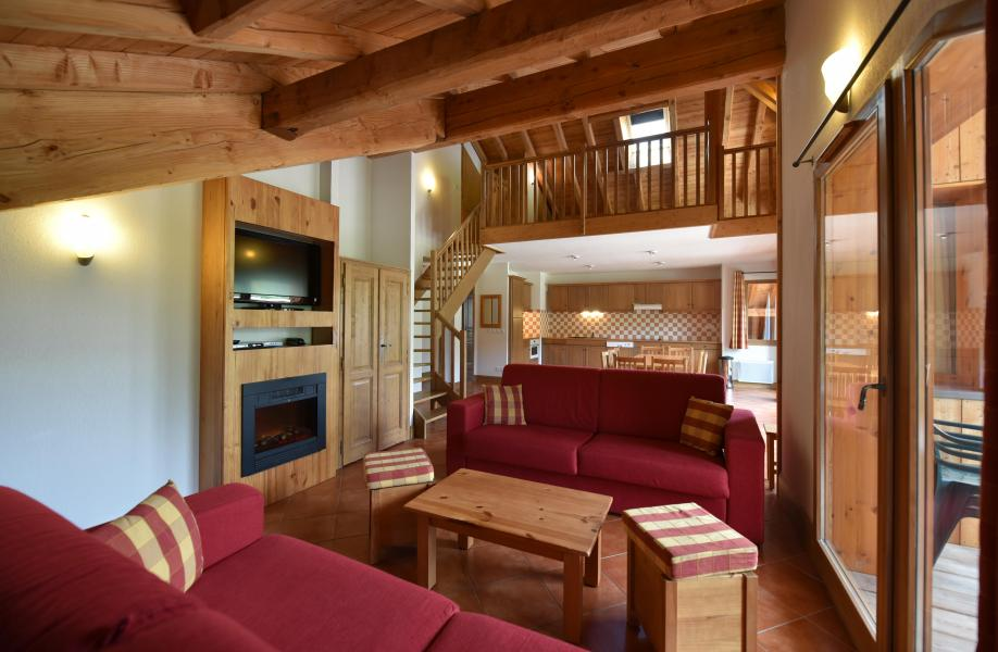 Vacances en montagne Résidence Club MMV le Hameau des Airelles - Montgenèvre - Coin séjour