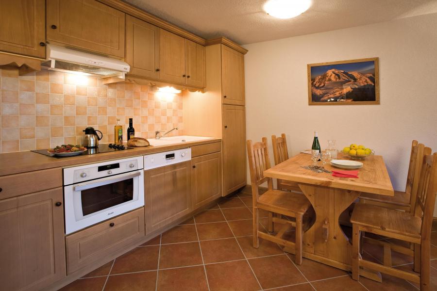 Vacanze in montagna Résidence Club MMV le Hameau des Airelles - Montgenèvre - Cucina aperta