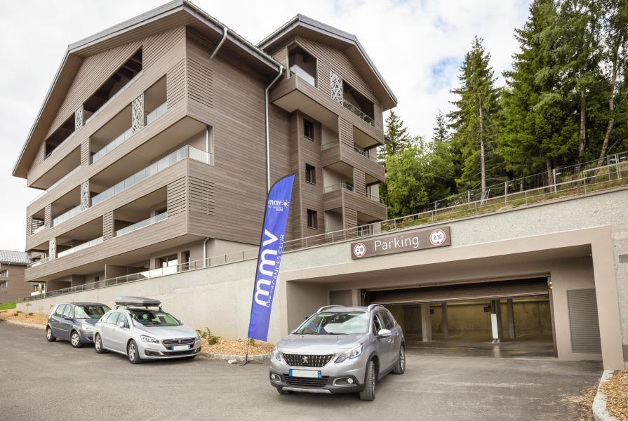 Location au ski Résidence Club MMV Les Chalets des Cîmes - Les Saisies - Extérieur été