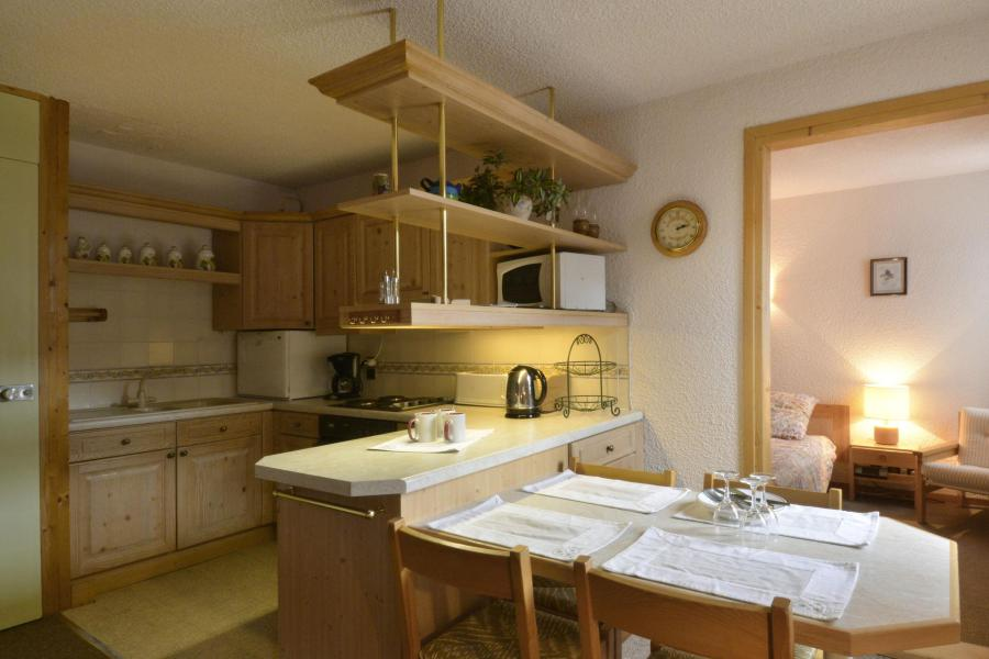 Holiday in mountain resort 2 room apartment 5 people (654) - Résidence Corail - La Plagne - Open-plan kitchen