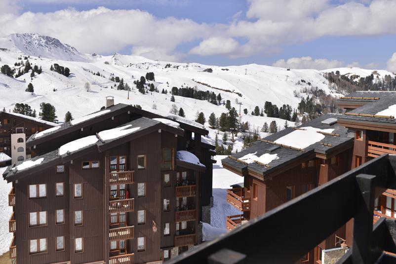 Holiday in mountain resort Studio 4 people (457) - Résidence Corail - La Plagne