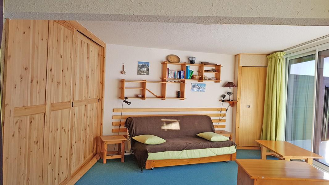 Wakacje w górach Apartament 2 pokojowy z alkową 6 osób (1206) - Résidence Cortina 1 - Puy-Saint-Vincent