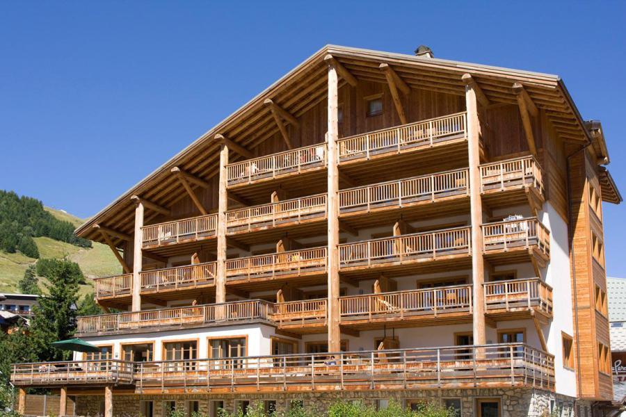 Location au ski Résidence Cortina - Les 2 Alpes - Extérieur été