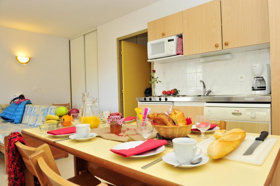 Urlaub in den Bergen Résidence Couleurs Soleil - Oz en Oisans - Küche