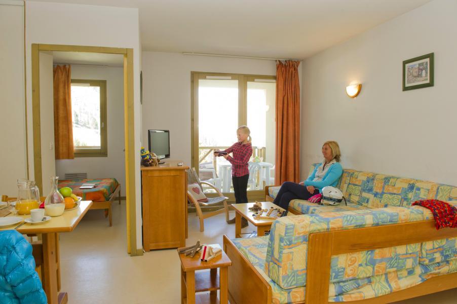 Urlaub in den Bergen Résidence Couleurs Soleil - Oz en Oisans - Sitzbank