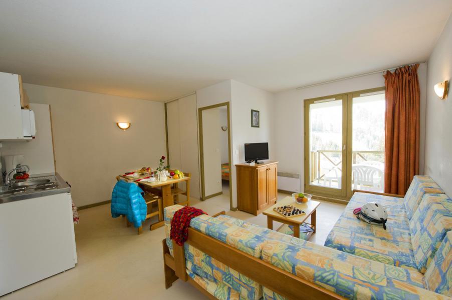Urlaub in den Bergen Résidence Couleurs Soleil - Oz en Oisans - Wohnzimmer