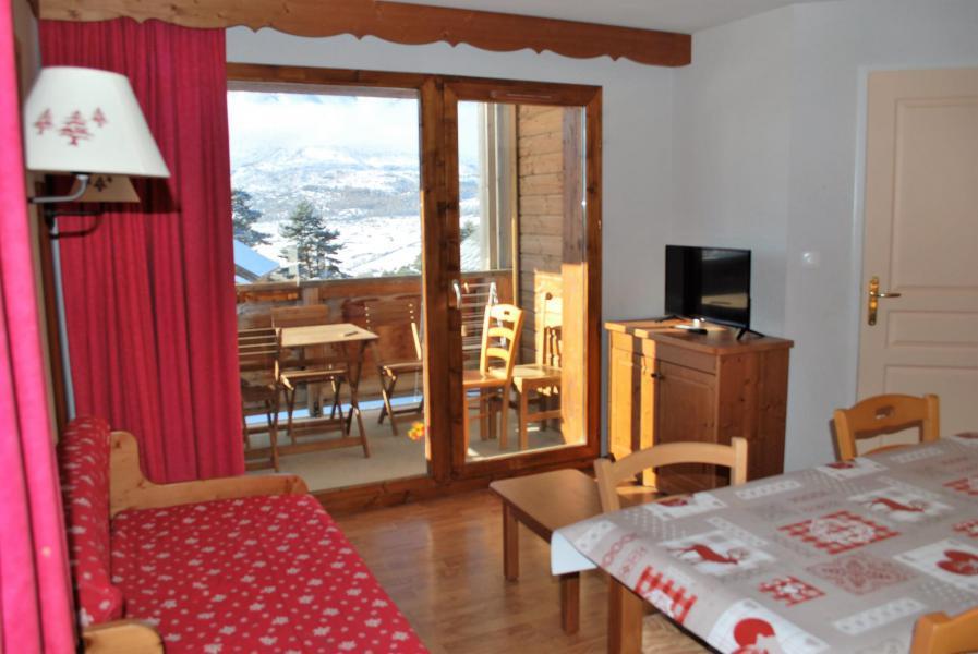 Vacances en montagne Appartement 2 pièces coin montagne 6 personnes (112) - Résidence Crête du Berger - La Joue du Loup - Séjour