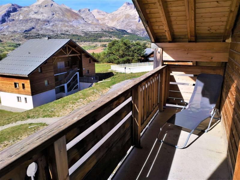Vacances en montagne Appartement 3 pièces 6 personnes (322) - Résidence Crête du Berger - La Joue du Loup - Balcon
