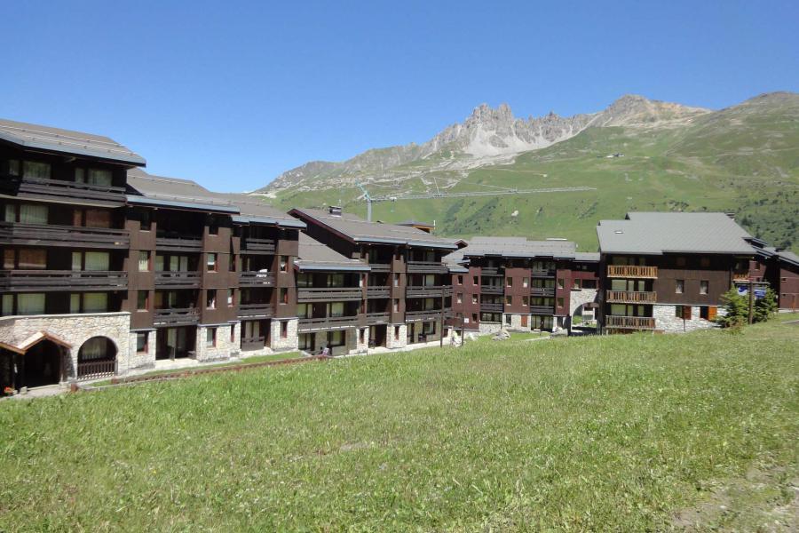 Ski verhuur Résidence Creux de l'Ours Bleu - Méribel-Mottaret - Buiten zomer