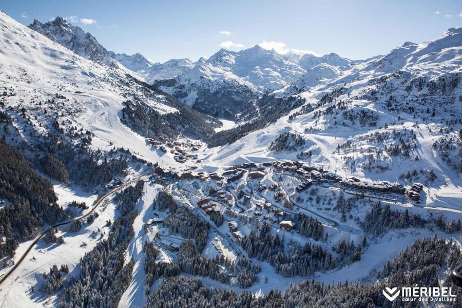 Vacanze in montagna Résidence Creux de l'Ours Bleu - Méribel-Mottaret