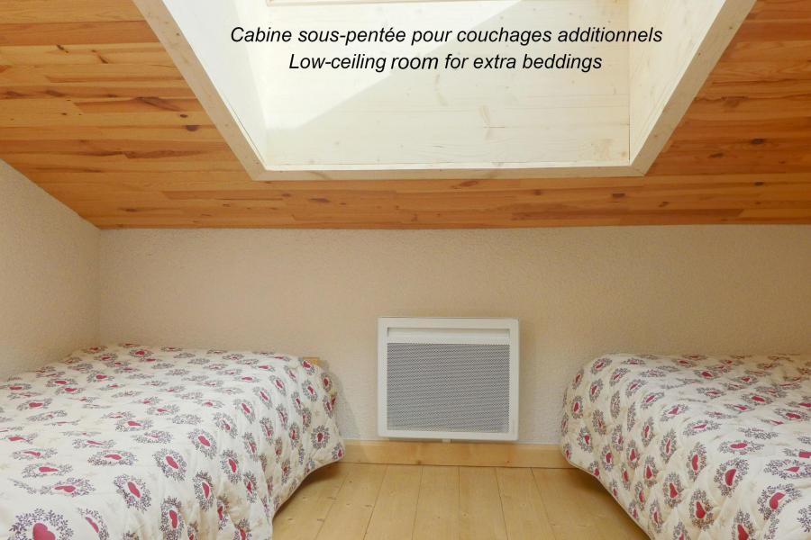 Vacaciones en montaña Apartamento 2 piezas mezzanine para 6 personas (153) - Résidence Creux de l'Ours Bleu - Méribel-Mottaret
