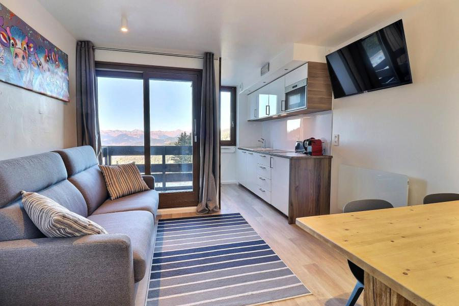 Vacances en montagne Appartement 2 pièces 4 personnes (084) - Résidence Creux de l'Ours Bleu - Méribel-Mottaret - Séjour