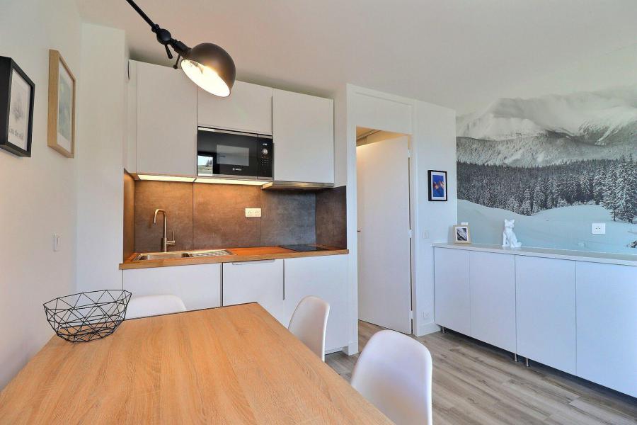 Vacances en montagne Appartement 2 pièces 4 personnes (C53) - Résidence Creux de l'Ours Bleu - Méribel-Mottaret - Logement