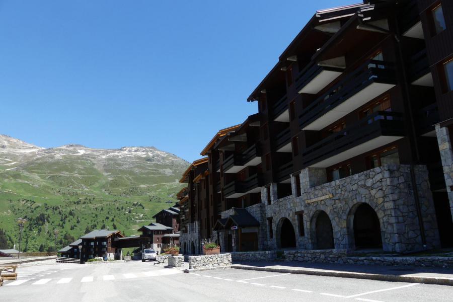 Vacaciones en montaña Résidence Creux de l'Ours Rouge - Méribel-Mottaret