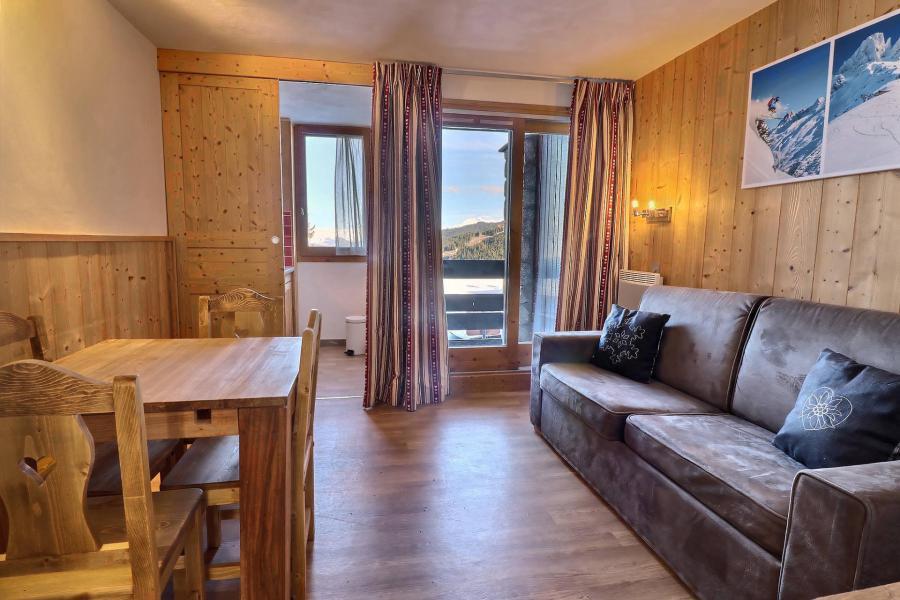 Vacances en montagne Appartement 2 pièces 4 personnes (A19) - Résidence Creux de l'Ours Rouge - Méribel-Mottaret