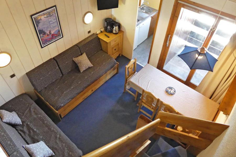 Vacaciones en montaña Apartamento dúplex 3 piezas 6 personas (A63) - Résidence Creux de l'Ours Rouge - Méribel-Mottaret