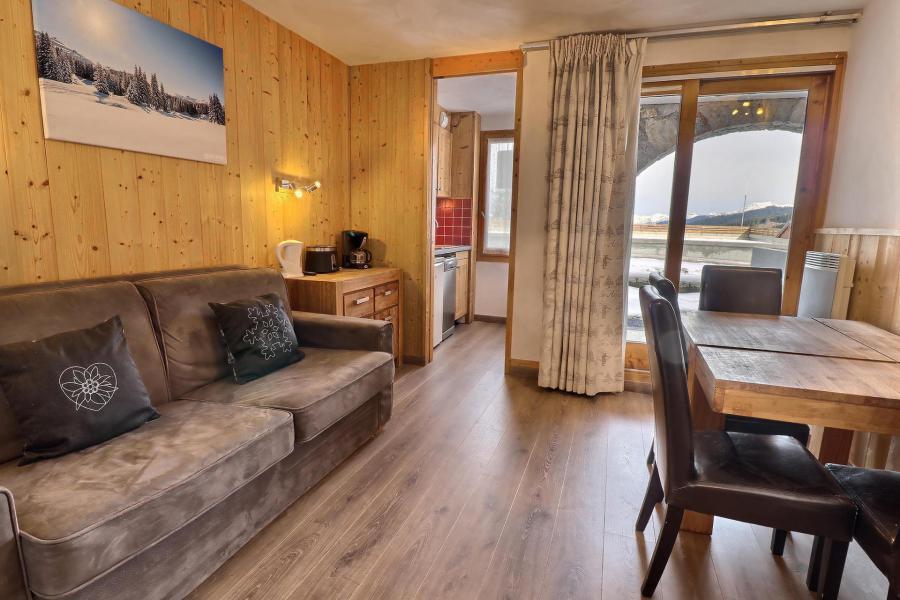 Vacances en montagne Appartement 2 pièces 4 personnes (A16) - Résidence Creux de l'Ours Rouge - Méribel-Mottaret - Logement