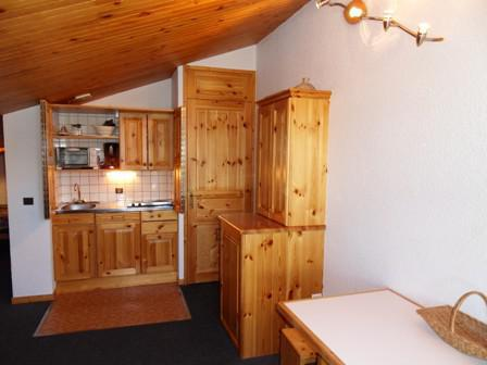 Holiday in mountain resort Studio cabin 4 people (1313) - Résidence Croix du Sud - La Plagne
