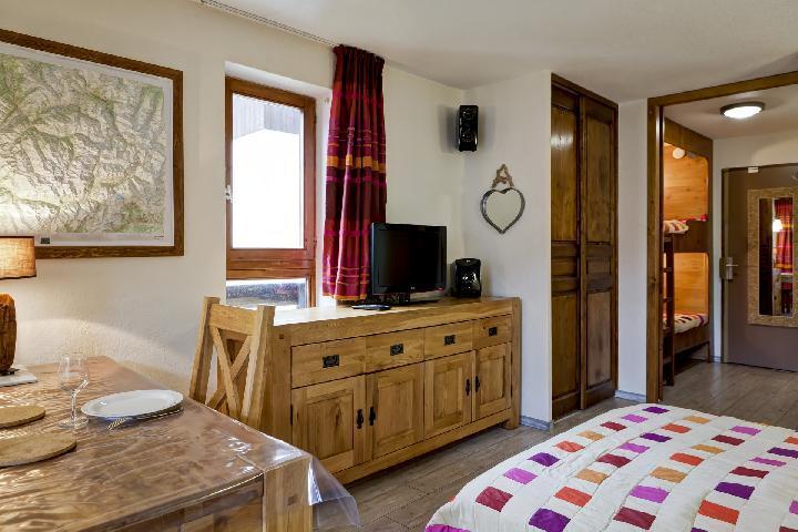 Vacances en montagne Studio coin montagne 4 personnes (3306) - Résidence Cybèle - Brides Les Bains